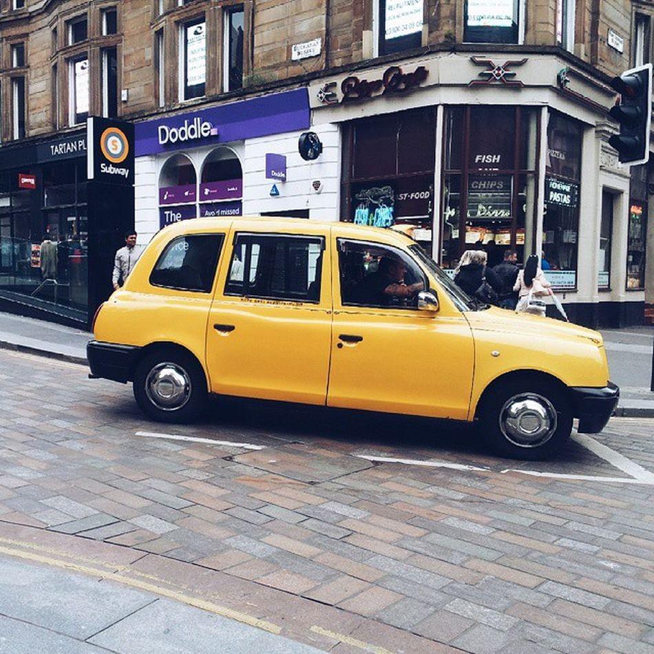 Yellow cab, taxi! Vscocam VSCO Vscoglasgow Instaglasgow Insta_Scotland Instascotland Igersglasgow Ig_glasgow Instagrammer Instaoftheday Picoftheday Ig_uk Instagrammer Igerscots PeopleMakeGlasgow Perfectdayglasgow Explorescotland InstaUK Igersscots Igersuk Glasgow  Uk Scotland Urbanlife Urban cab yellow taxi peoplemakeglasgow perfectdayglasgow vscouk