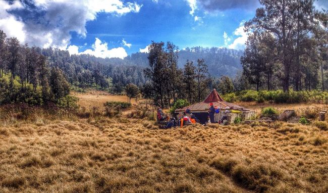 Adventure Landscape INDONESIA HDR Clouds And Sky Mountains Panorama Hdr_Collection Sky_collection Hiking