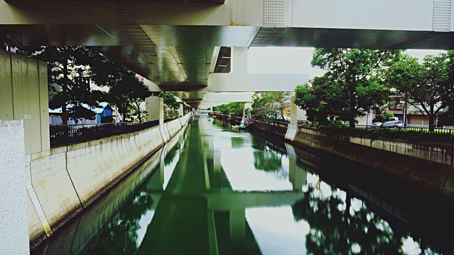 Good Morningning Yokohama Reflection River なんとなく疲れたィヨコハマがたまらなく愛おしい。