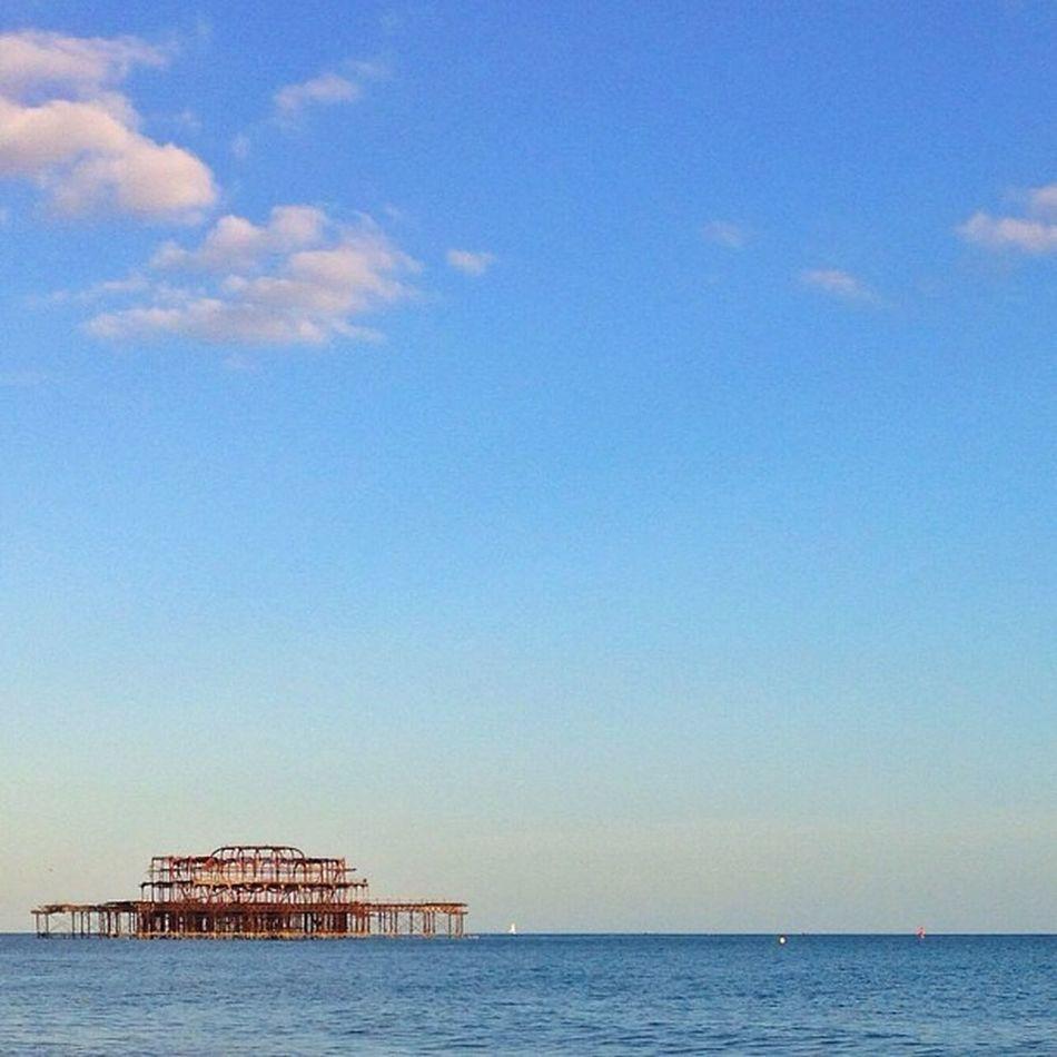 Brighton's West #Pier #beach ??☀️⛅️???☀️ Mashpics Top_masters Beach From_city Pro_shooters Secretlandscapes Pier Barbourwildbritain Alan_in_brighton Gang_family Insta_brighton Allshots_ Igers_brighton Gf_uk Gi_uk Ig_england Aauk Ic_cities_brighton Capture_today Loveyoursummer