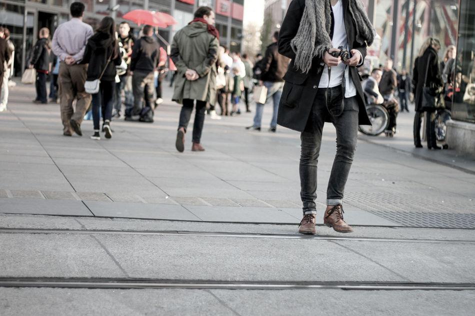 Beautiful stock photos of city, Berlin, Camera, Casual Clothing, City Street