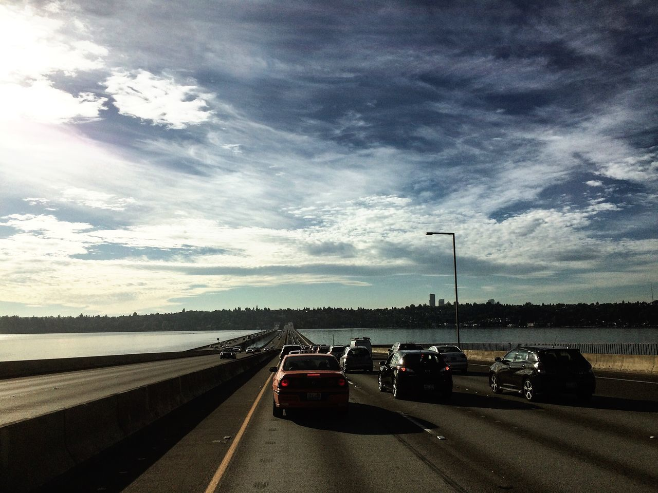 Beautiful stock photos of seattle, Bridge, Car, City, Cloud