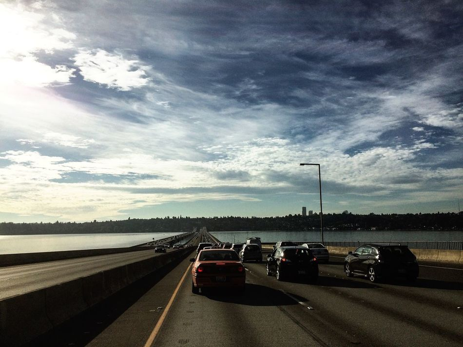 Beautiful stock photos of seattle, Bridge, Car, City, Cloud