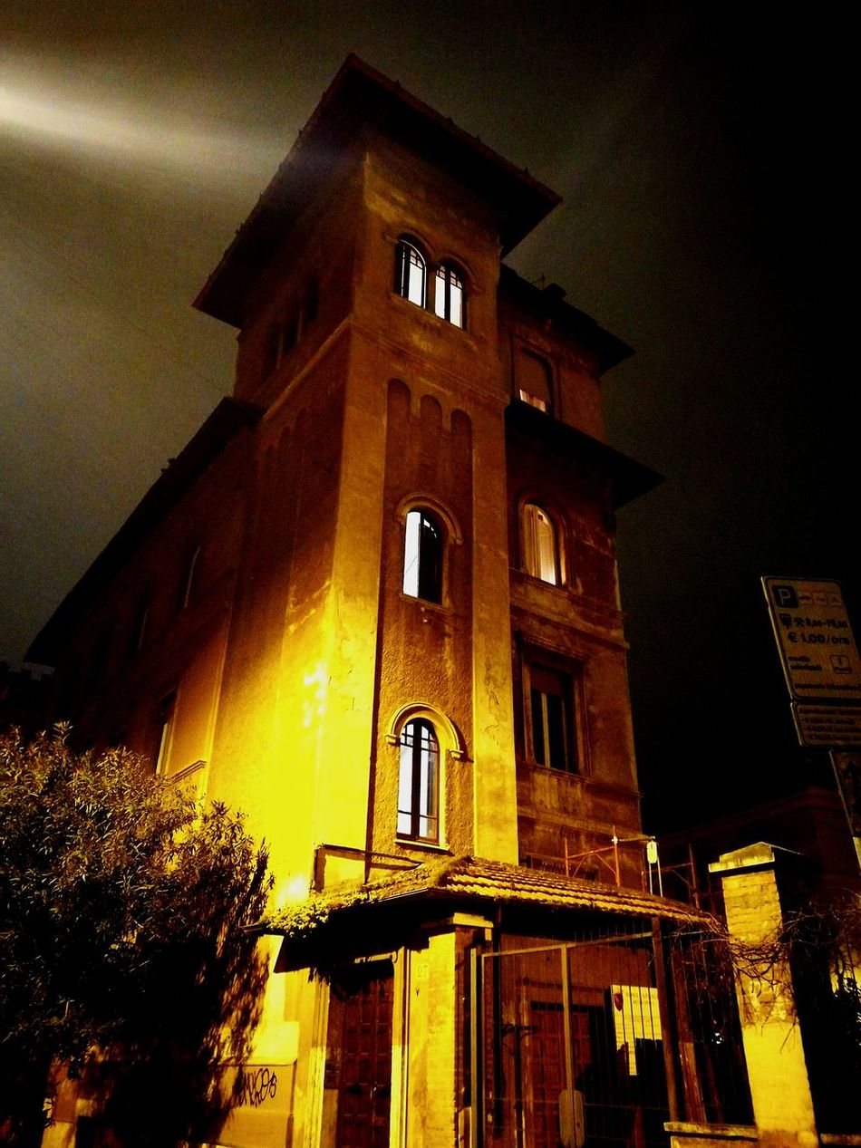 Building Exterior Architecture Built Structure Low Angle View No People Façade Sunset Clock Religion Outdoors Sky Day Rome By Night