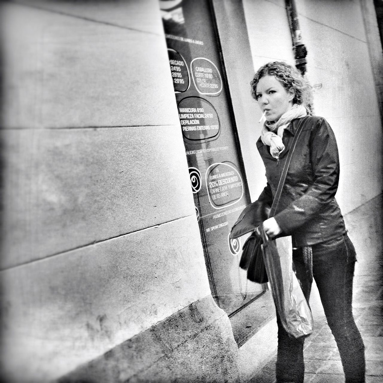 Streetphotography Beautiful Blackandwhite Street Portrait