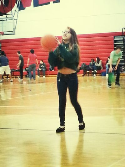 Chas Was Tryna Shoot A Hoop!