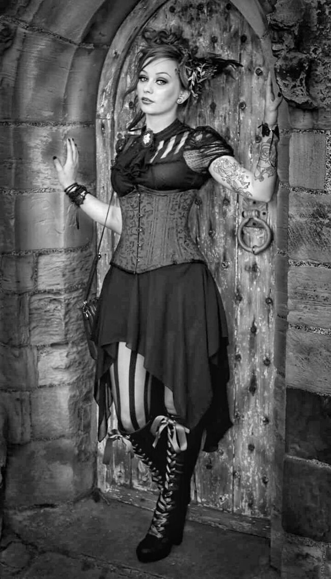 Im lookings forward to going back to Whitby in a few weeks for the Goth weekend! I seriously love the place! Portrait Shades Of Grey Portrait Of A Woman Whitby Goth Weekend Whitby Manchester Picturing Individuality