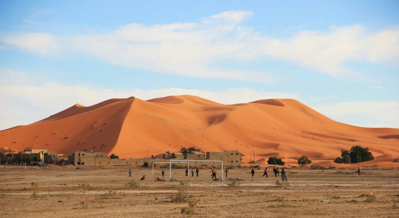 Beautiful stock photos of soccer, , Brown, Horizontal Image, arid climate
