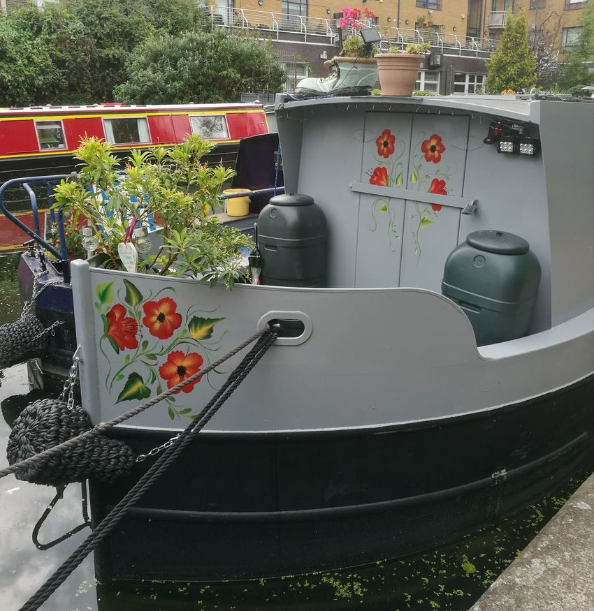 Canal Boats No People Outdoors