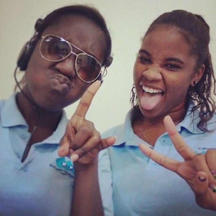 Papiamento Epi Schoollife crazy time with my niggah @anjelii___