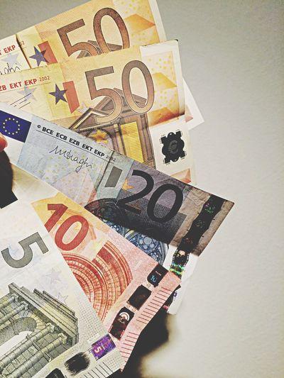 Spend. Spend Money Europe Euro Cash