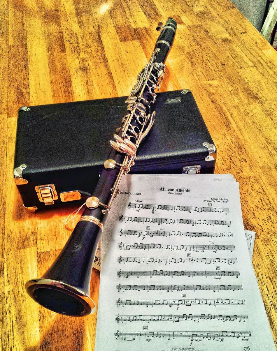 Clarinet Close-up Detail Indoors  Instrumentals Music Music Old-fashioned Part Of Still Life Festival Season