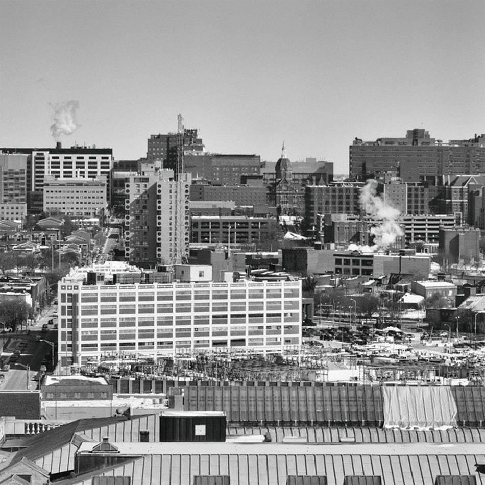 Baltimore Baltimore Maryland BaltimoreSun MDinFocus mdlivin CityPaper city cityscape blackandwhite bnw monochrome Nikon iamnextcontest topfloor justgoshoot