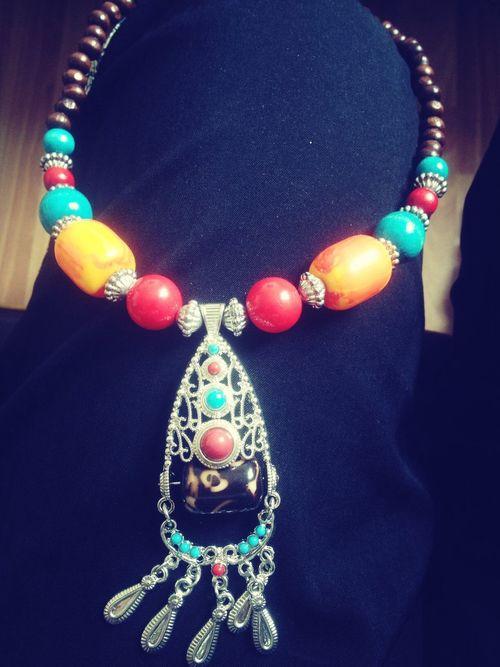 Jewellery 藏飾。拉薩帶回來的。