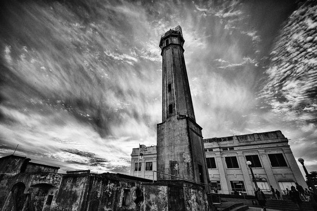Alcatraz Blackandwhite Monochrome San Francisco
