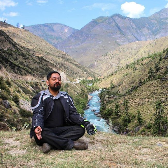 Motomeditation Meditation Motorcyclerides Adventure Bhutan Paro