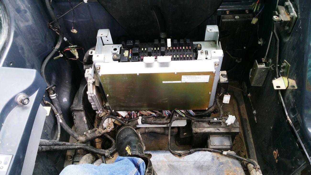 My job Troubleshooting Enginecontrollerunit Kobelco Kobelcosk130