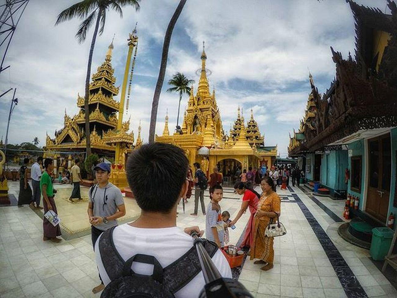 Midstream Kyauktan Pagoda Goprophotography Gopixx Kyauktan Pagoda Igersmyanmar Yangon Myanmar Burma Instagood Yourworldgallery Travelgood Vacationinstyle Choose2create Meistershots Gopro Goprohero4 Lightroom Snapseed