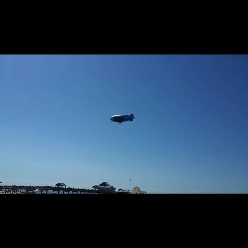 Direct tv Blimp over Pier60 @vspc Clearwater Clearwaterbeach sundaystudyday