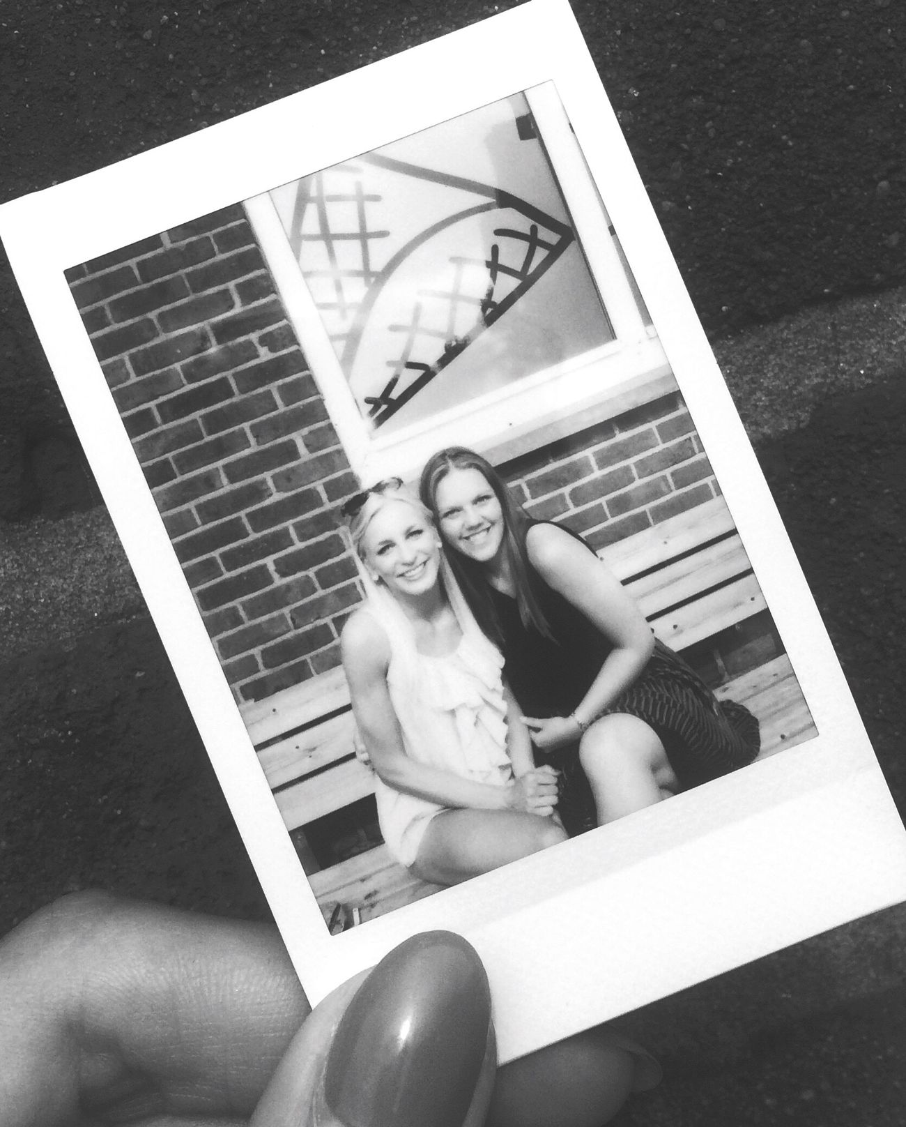 Polaroid Friendship B&w Mybest