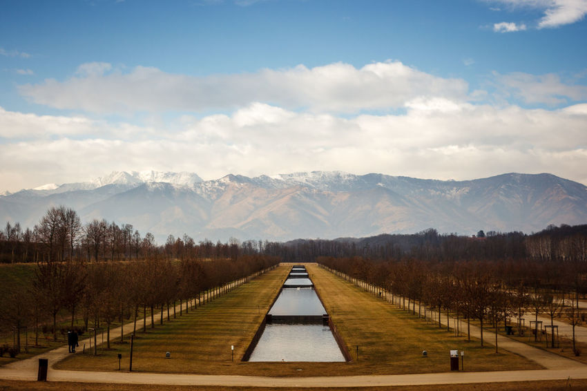 Italia Piedmont Italy Piemonte Beauty In Nature Cloud - Sky Day Italy Landscape Mountain Mountain Range Nature No People Outdoors Piedmont Reggia Scenics Sky The Way Forward Tranquil Scene Tranquility Tree Venaria Reale