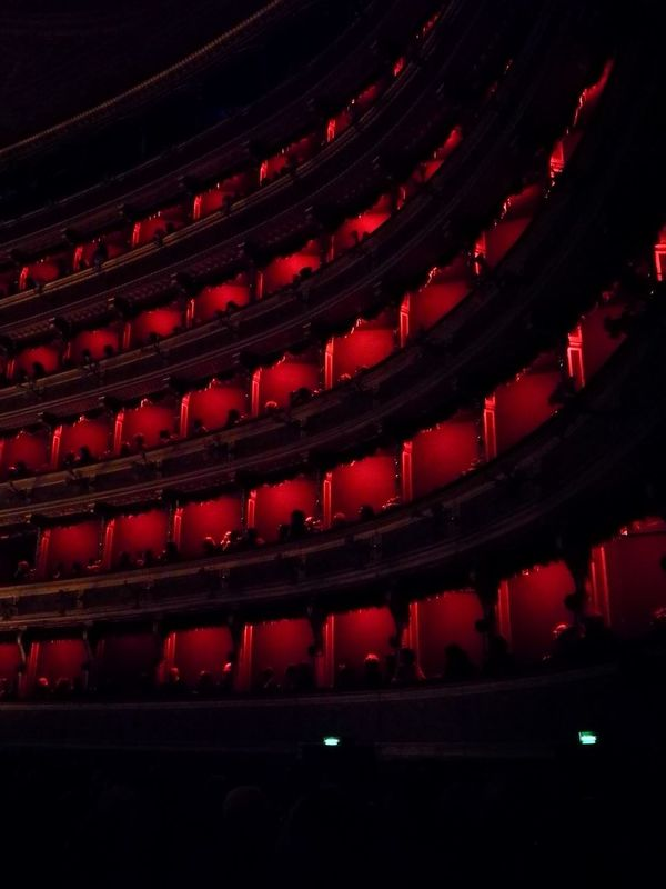 Red Indoors  Arts Culture And Entertainment Architecture No People Illuminated Night Film Industry No Filter Theater Teatro Massimo Palermo HuaweiP9plus HuaweiP9Photography Purist (no Filter) Teatro