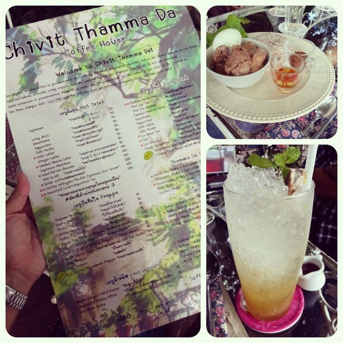 """Have theChill Out Lunch along the KoK River """"Chivit Thamma Da ชีวิตธรรมดา"""" Chivitthammada Chillout River Sweet"""