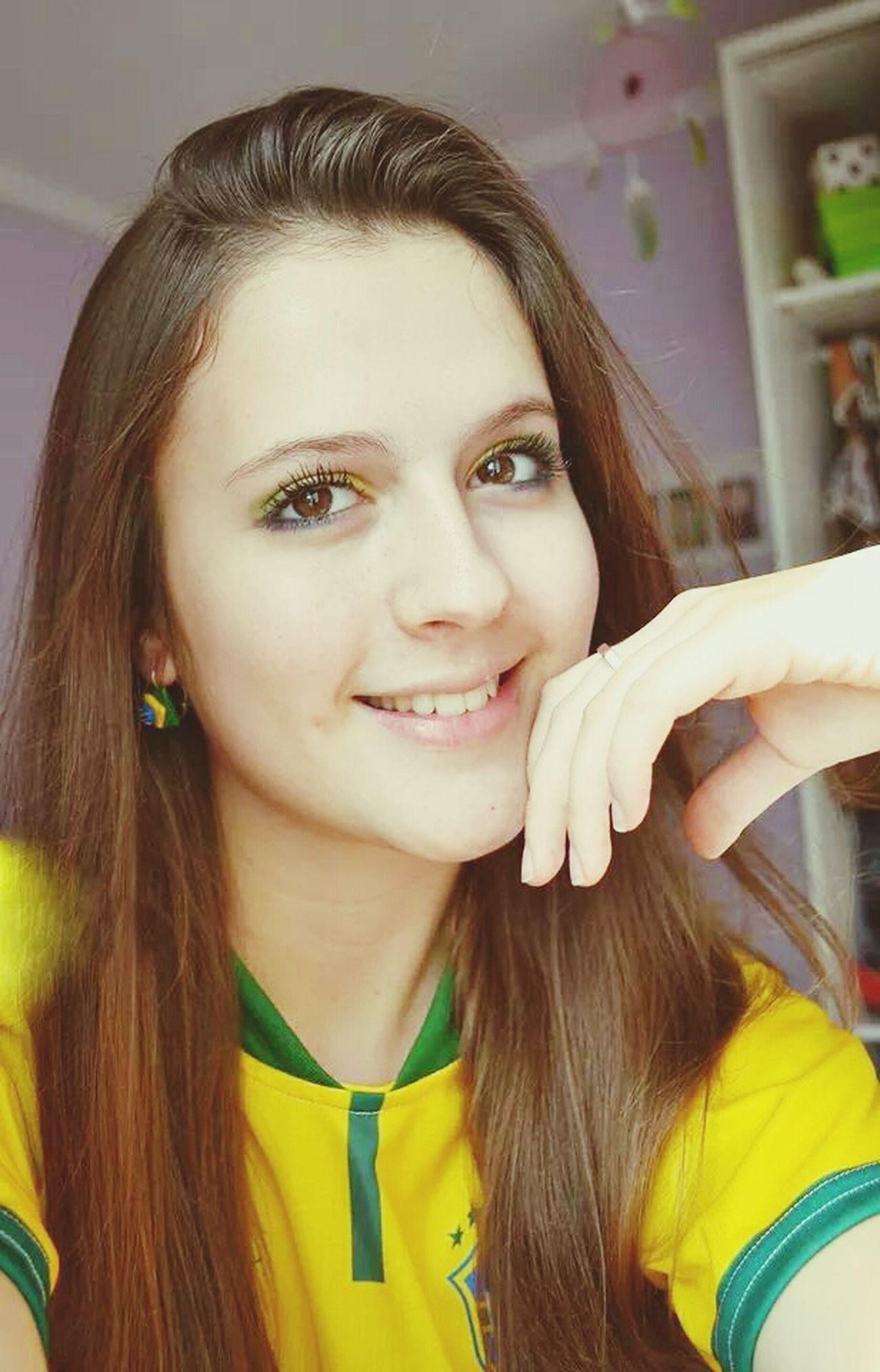 Vaaaamos Brasiiil! A taça é nossa! FIFA World Cup Brasil Go Brasil  That's Me Hello World