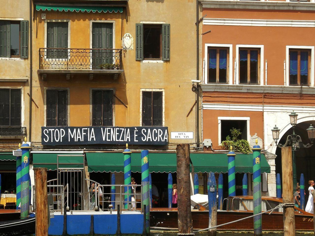 Venezia Venice Italy Italia Message Mafia  Colors Building Exterior Outdoors Text
