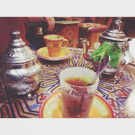 Arabic Tea Enjoying Life Beautiful