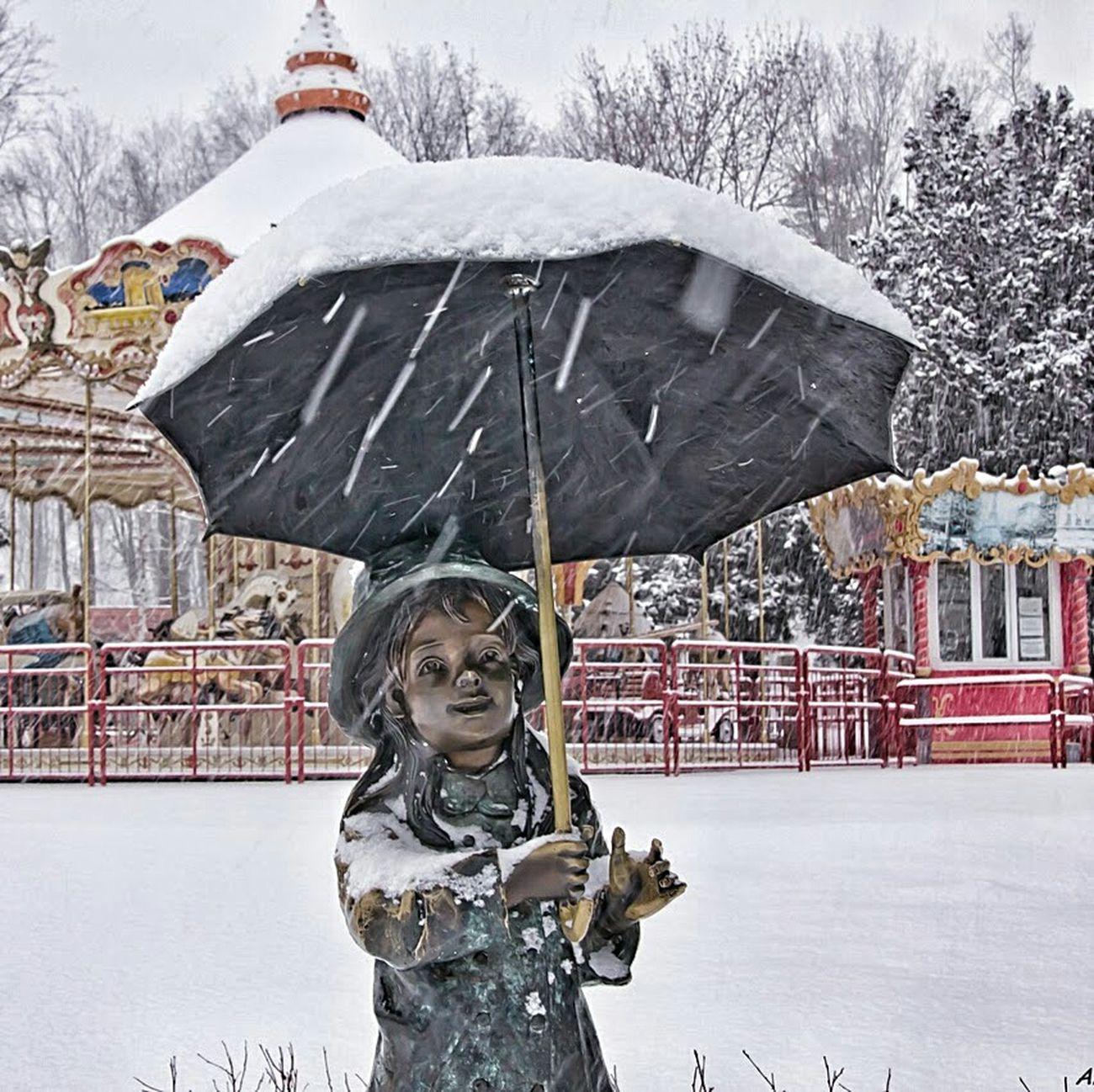 скульптура снег Природа Харьков зима январь парк Winter Taking Photos That's Me