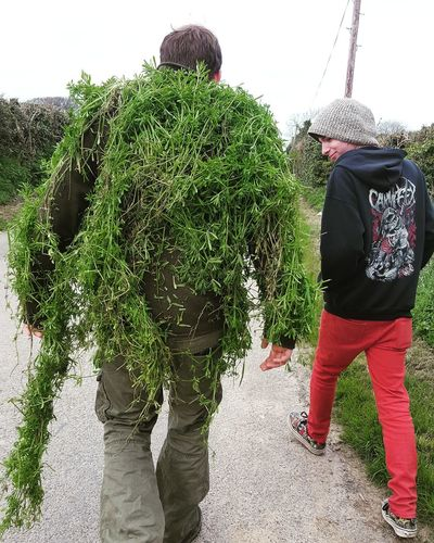 Grassman Grass Walk Adults Only People Adult Only Men Day Men Young Adult Outdoors Low Section EyeEmNewHere.