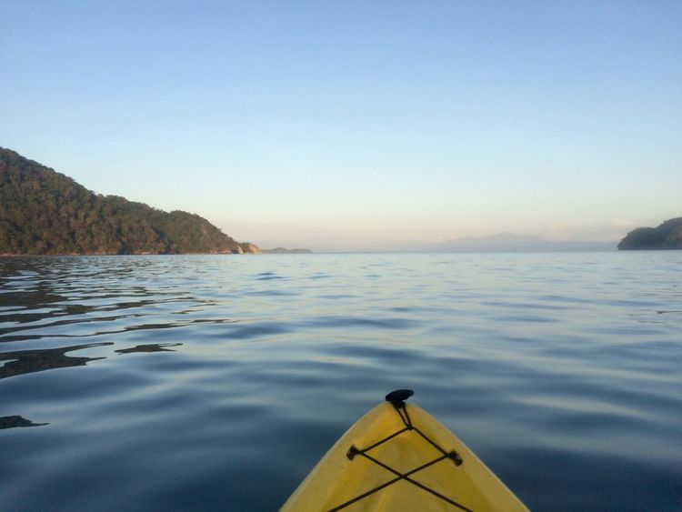 Tranquility Kayak Adventure Costa Rica Y Su Naturaleza Costa Rica Beauty In Nature Water Nature Scenics Sky No People Sea Outdoors Day
