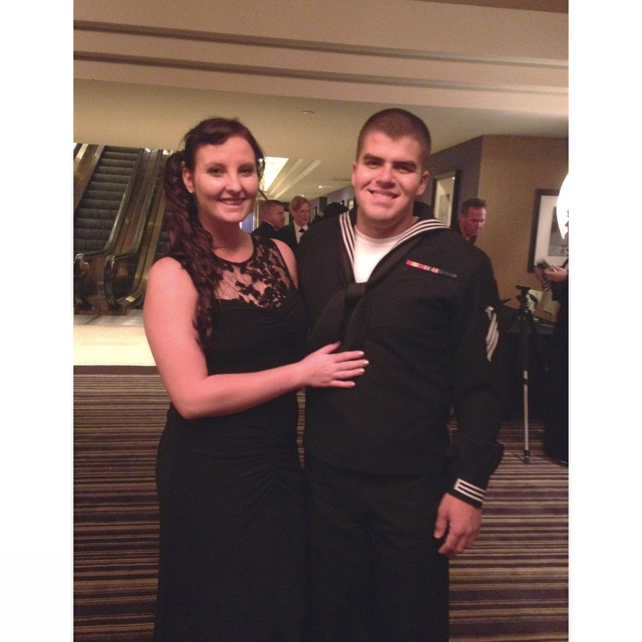 The navy ball was great! Usnavy Navy Girlfriend Navy Ball Fancy