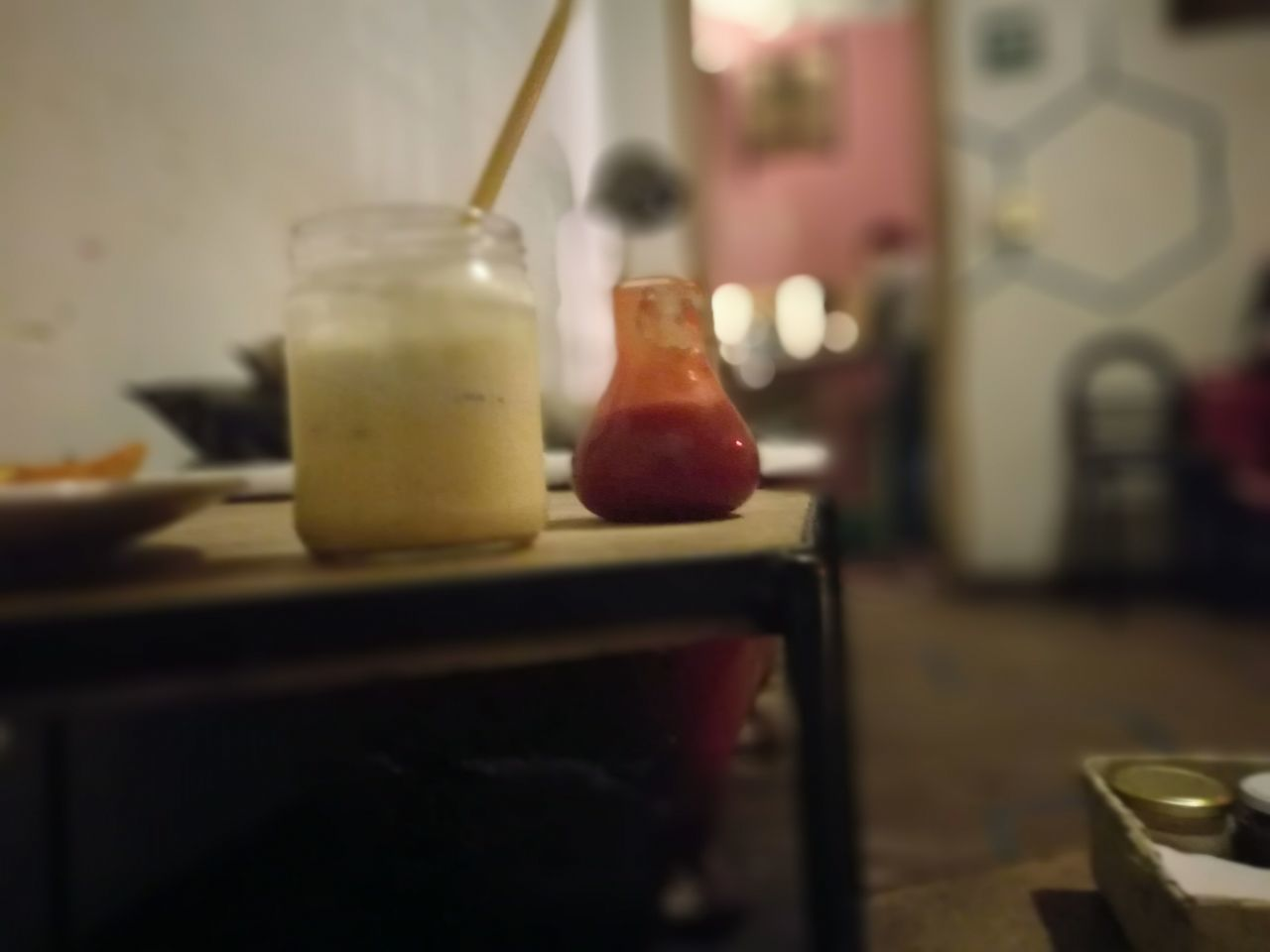 Indoors  Domestic Kitchen No People Close-up Day Happy Hour Backgrounds Illuminated Nightlife Music EyeEmNewHere People Shapes And Sizes Dishes. Again! Sauce It Up Frappe Kitchen Frappe Time Frappeaddict Colors