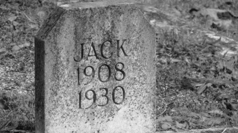 Here lies Jack Jack Starsville Cemetery Covington Ga Graveyard Collection Beauty Cemeteries Back Roads Georgia Methodist Church Dixie Road Black And White