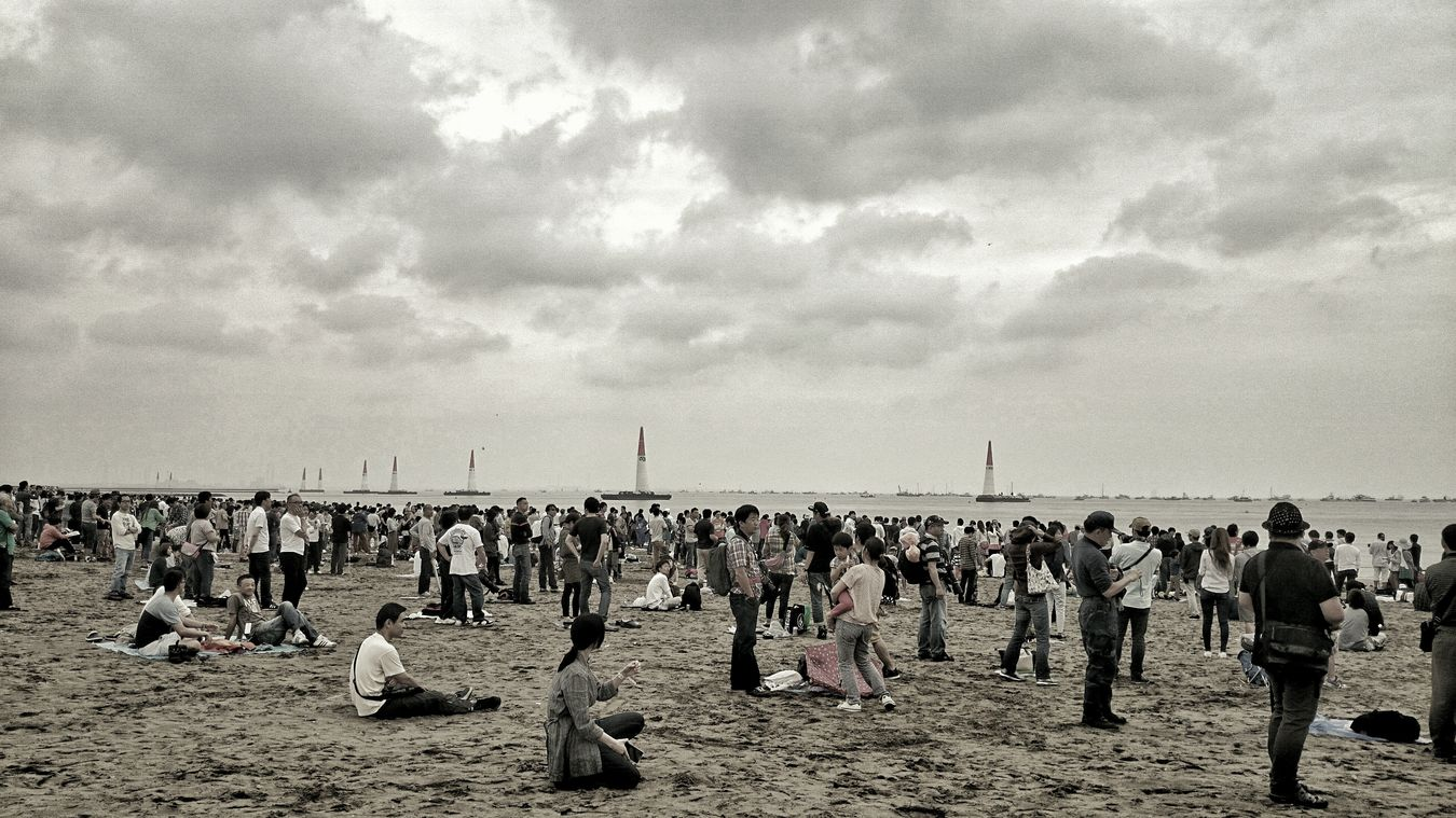 May2015 レッドブルエアレース来年もやるのかな?あれば是非また観たい♪ Seaside Landscape Peoplephotography People Watching Clouds And Sky Audience Redbullairrace EyeEm Best Shots EyeEm Best Edits EyeEmBestPics