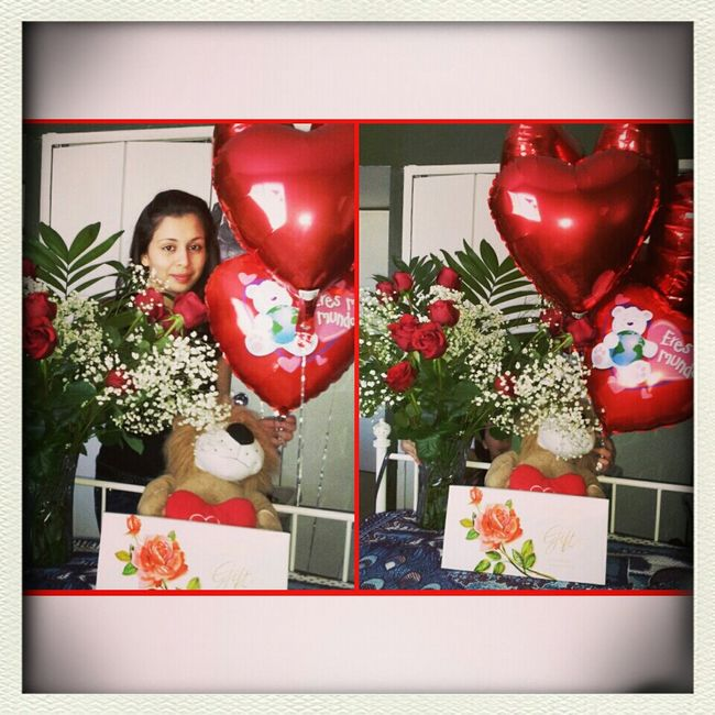 My Valentine Gifts From My Babe I Love Each One Of Them.. Thanks Babe
