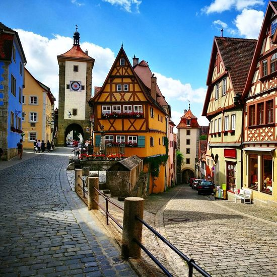 Rothenburg ob der Tauber Medieval MedievalTown Rothenburg Ob Der Tauber Rothenburg Old Town German Germany Franconia Bavaria Architecture Street Picturesque Woodenframe EyeEm Selects Been There. Lost In The Landscape