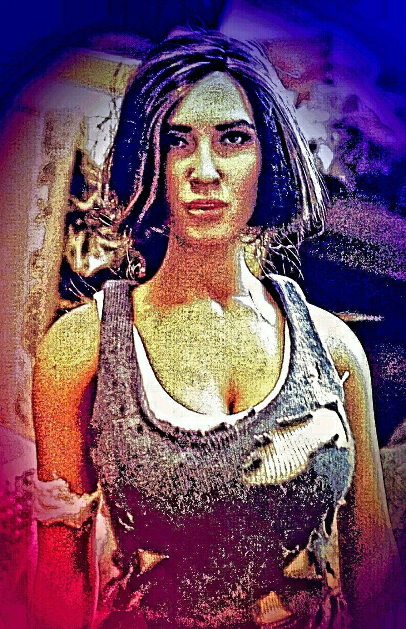 Survivor Lara Croft Tomb Raider  Videogames Onesixthscale Kitbash Mobilephotography Heroine Colour Portrait