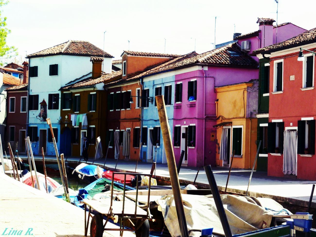 Streetphotography Colorful Burano Landscape