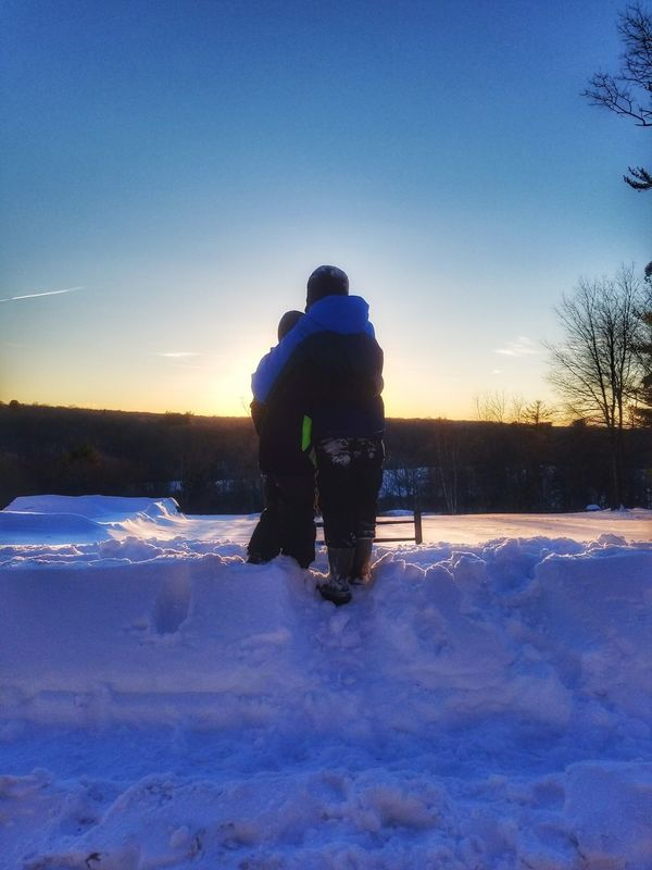 Only Men One Man Only One Person Adults Only People Men Beauty In Nature Nature Outdoors Adult Day Sky Sportsman Nature Beauty In Nature Illuminated Scenics Sunlight Sun Cloud - Sky Blizzard2017 Snow Winter Cold Temperature Two People