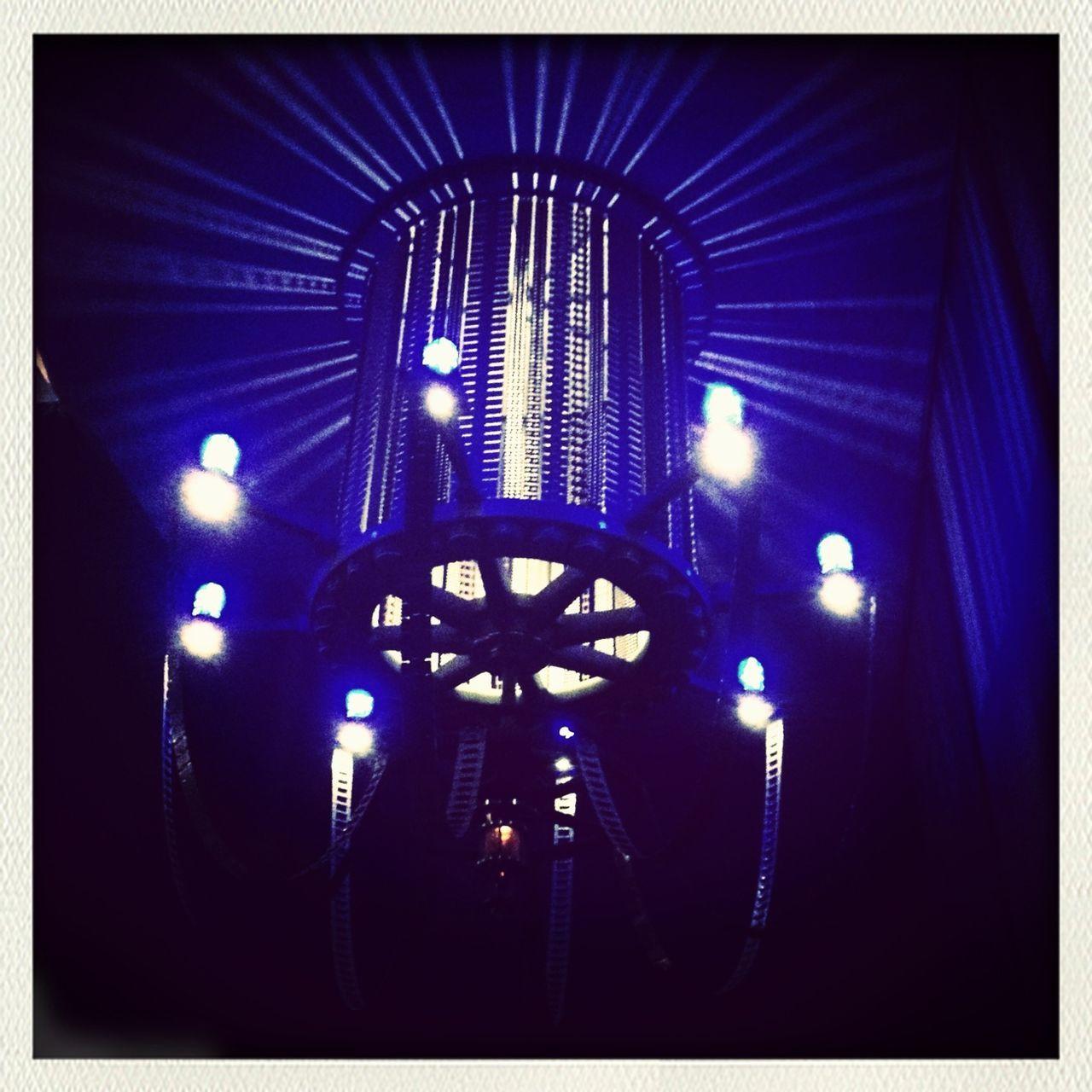 illuminated, night, indoors, blue, no people, nightclub, close-up