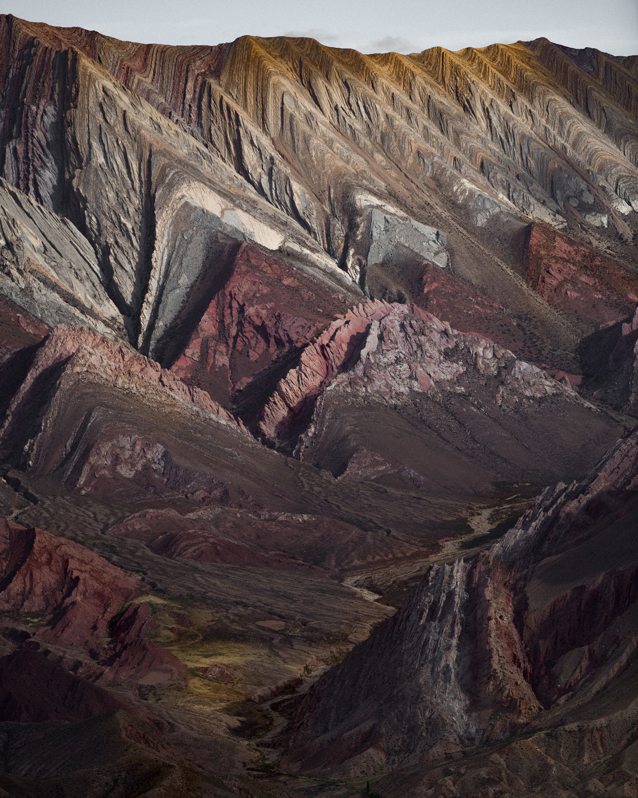 El Hornocal WeekOnEyeEm geology physical geography Textured rough mining outdoors no people Nature day landscape