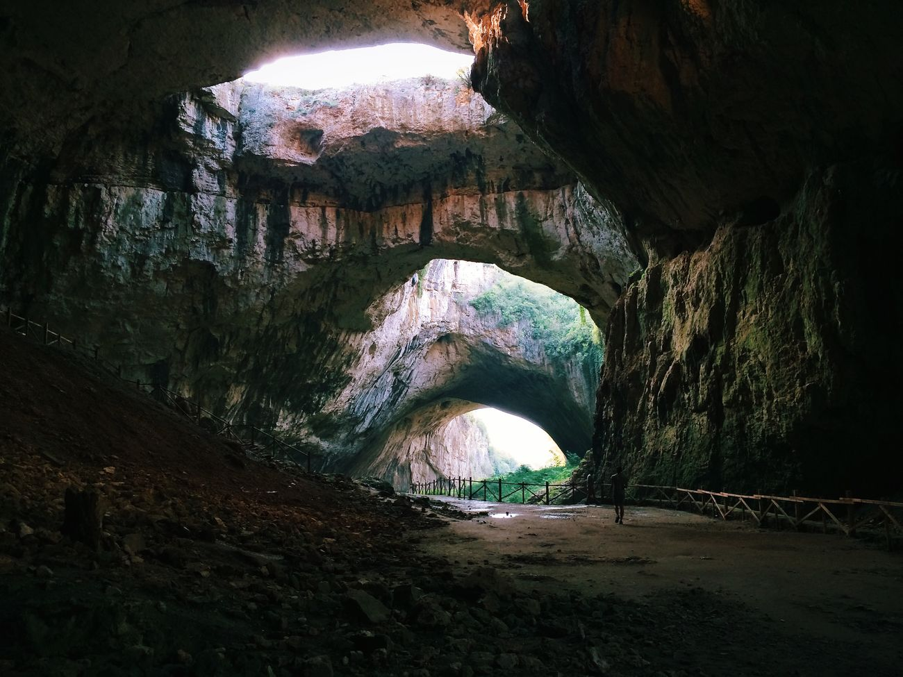 Devetaki Bulgaria Cave Holes ManolValtchanov Jungle Balkan Rocks