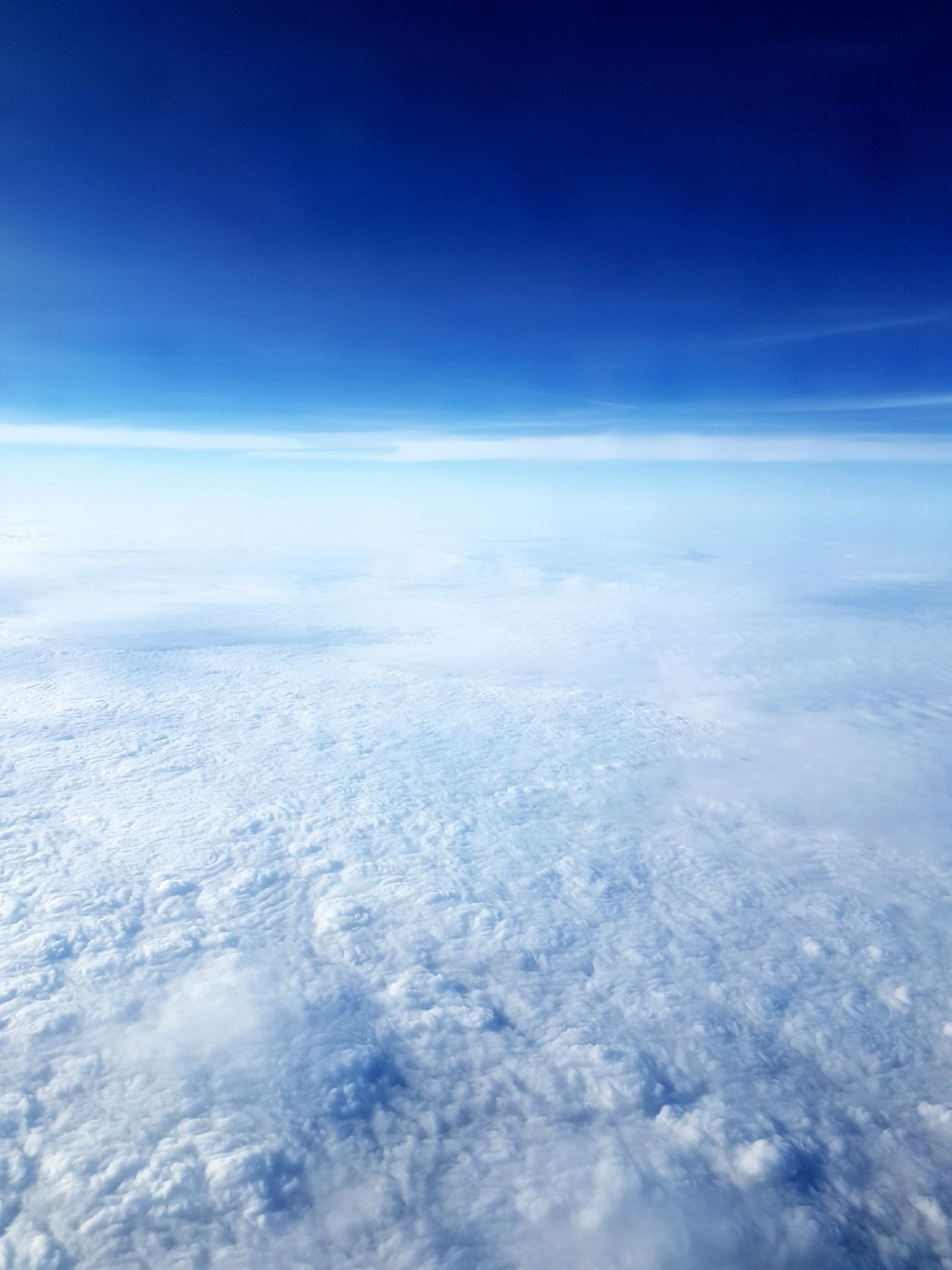 Flying High Blue Landscape Sky Cloud - Sky Aerial View Non-urban Scene Outdoors Dramatic Sky Tranquil Scene Scenics Nature Himmel Himmel Und Wolken Himmelblau Sky And Clouds Skyblue Plane View