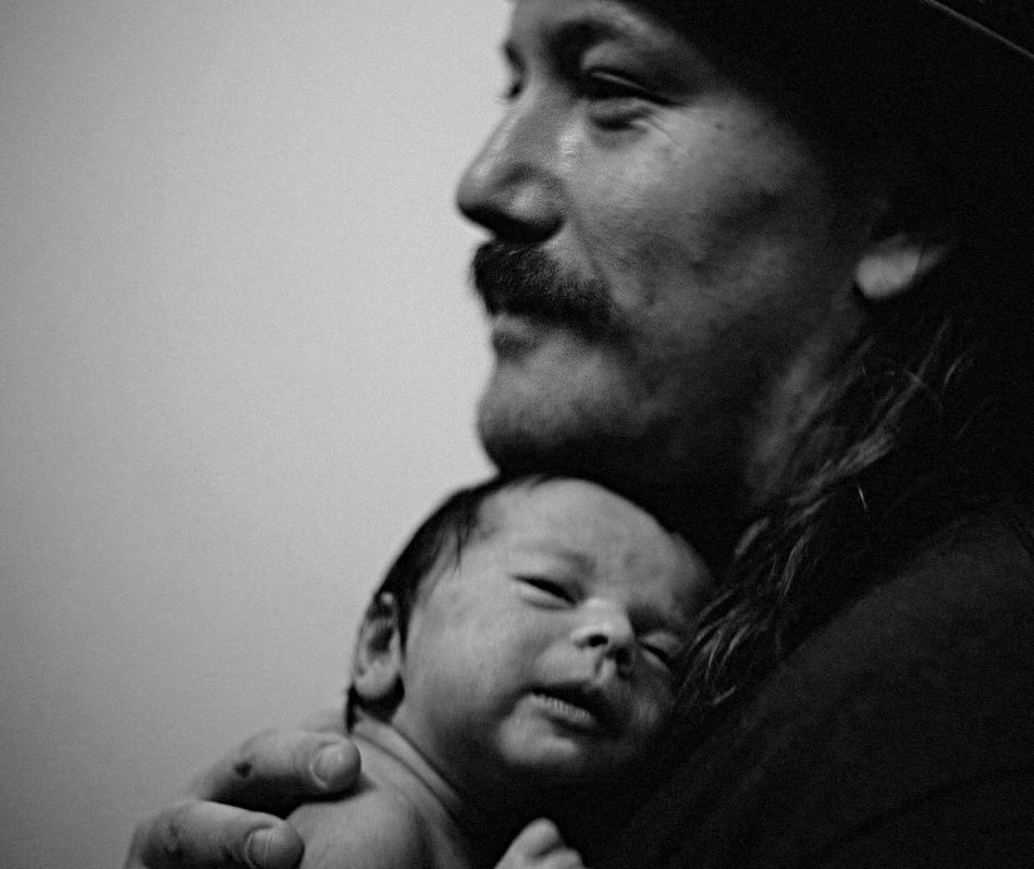 Harmony and Russell Father Daughter Newlife💛 Momentous Profound Blackandwhite Milestones New Chapter Of Life NewBorn Photography Miracle Bonded For Life Love ♥ The Portraitist - 2016 EyeEm Awards