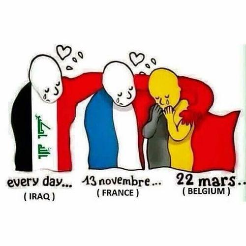 Prayforiraq Iraq Prayforparis Pray For Belgium