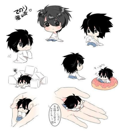 Lawliet Death Note Heartbeat Moments