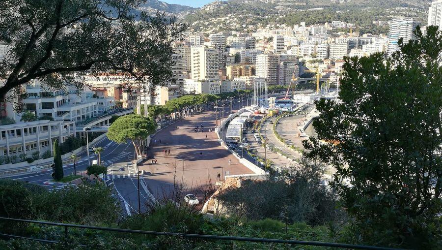 Monaco-ville Water Cityscape F1 Grand Prix